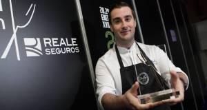 El cocinero Fernando Alcalá este miércoles en Madrid Fusión. FOTO/ Madrid Fusión