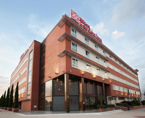 Fachada del hotel Hilton Garden Inn de Málaga