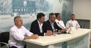 Imagen de la presentación en rueda de prensa de la feria este jueves en Marbella. FOTO/ Diputación