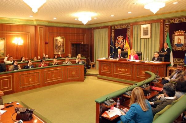 Momento de la votación del pleno este jueves. FOTO/ Ayto de Marbella