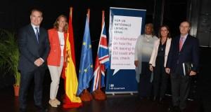 Imagen de los ponentes que participaron en el acto. FOTO/ Ayto de Marbella