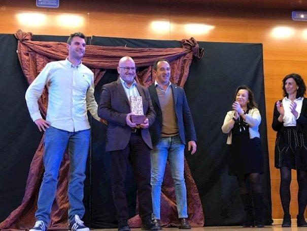 Imagen de la entrega del premio. FOTO/ Junta de Andalucía