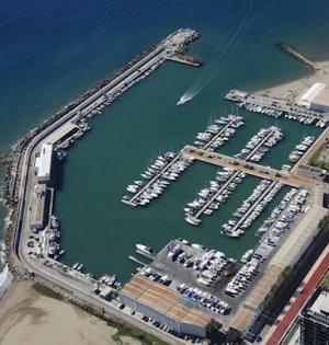 Vista aérea del Puerto de La Bajadilla. FOTO/ Junta de Andalucía