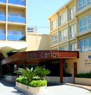 Imagen de la entrada del Hotel Don Carlos de Marbella