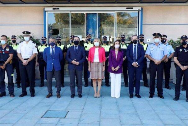 Imagen del acto celebrado este martes en la Jefatura de Policía Local de Marbella. FOTO/ Ayto de Marbella