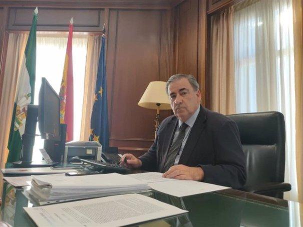 El subdelegado del Gobierno en Málaga, Teófilo Ruiz, en imagen de archivo. FOTO/ Subdelegación