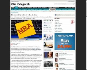 Telegraph - April 7th 2011