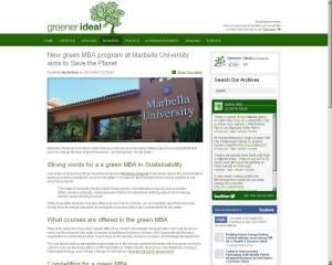 GreenerIdeal.com April 2011