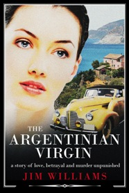 e-book cover for The Argentinian Virgin by Jim Williams