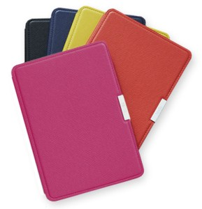 Coloured leather covers for the Kindle Paperwhite