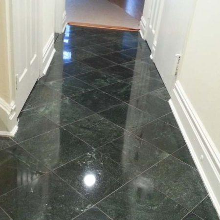 4 steps of marble floor restoration
