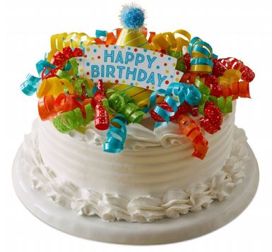 Birthday Party Ice Cream Cake