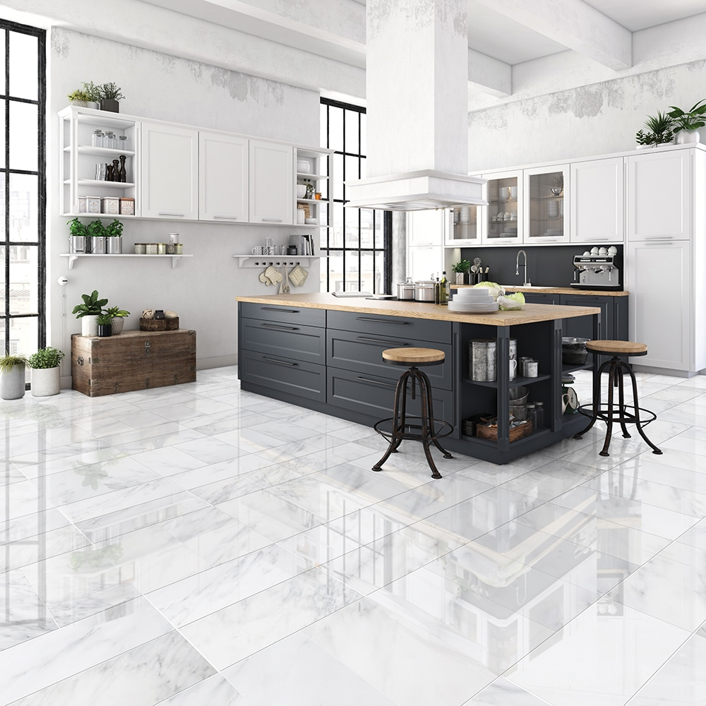calacatta bella polished marble tiles 12x24