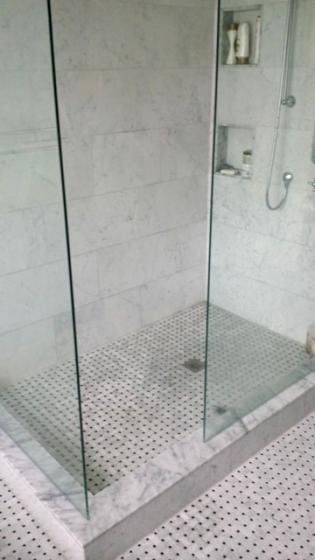 bathroom bianco carrara marble trend