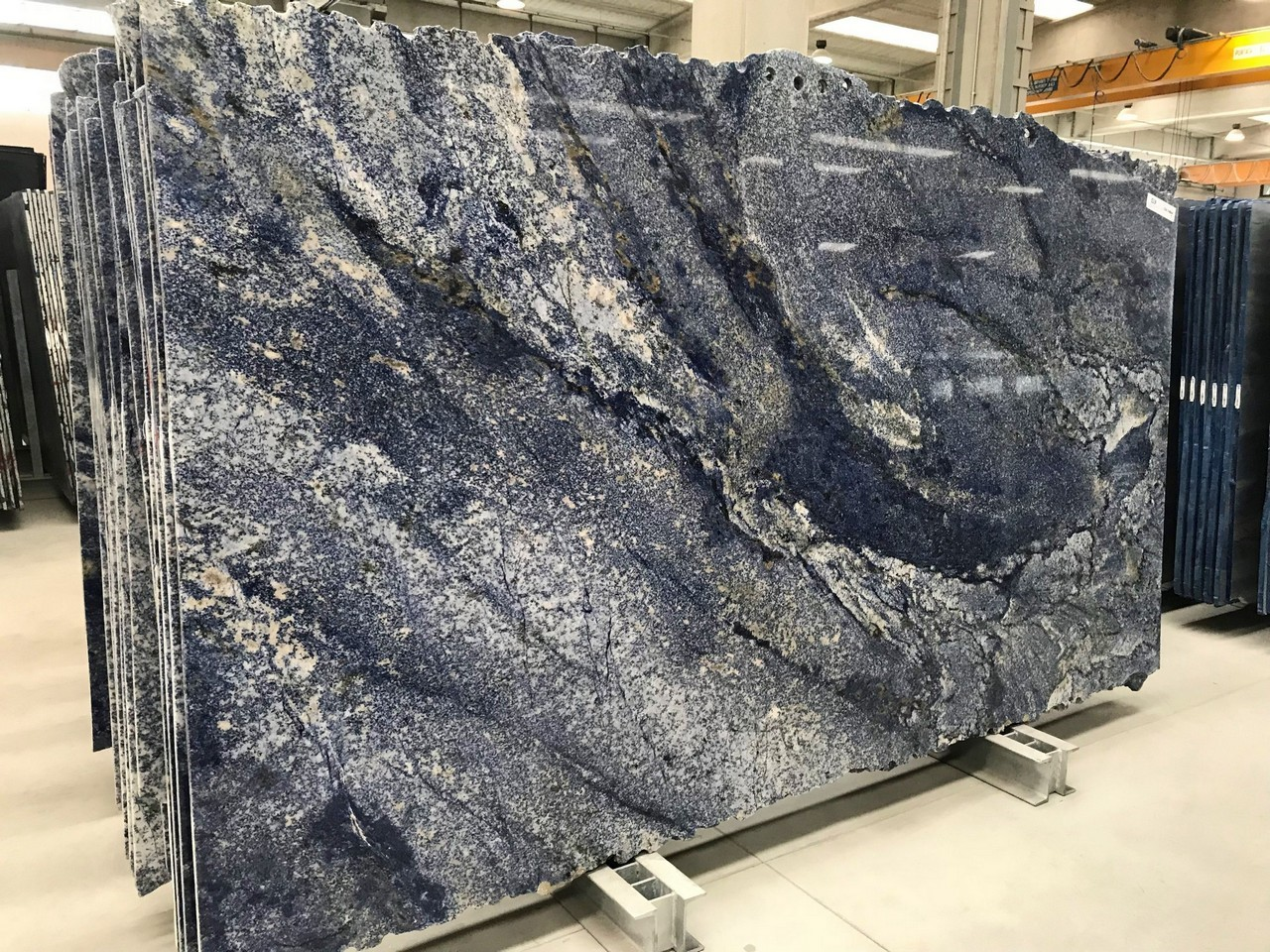 azul bahia slabs marble trend