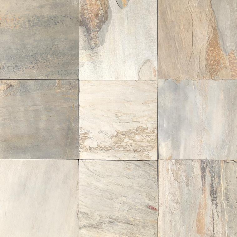 indian autumn cleft slate tile 12x12