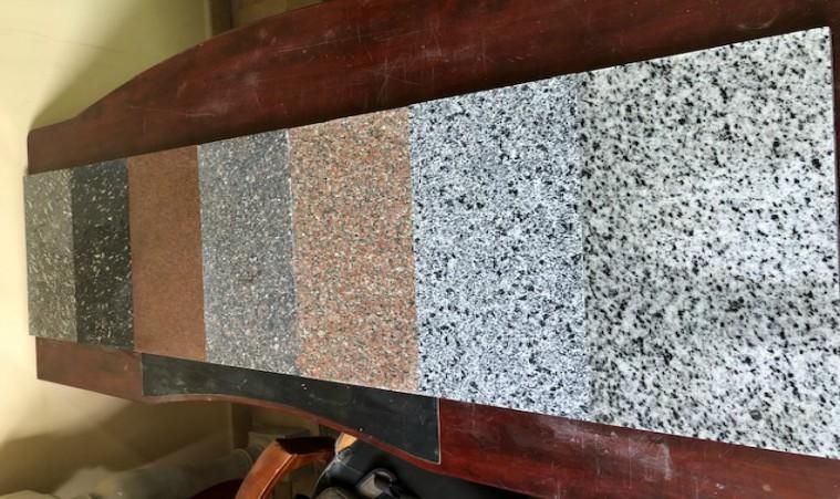 using granite tiles for staircase