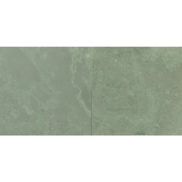 brazilian green jade green honed slate tile 12x12