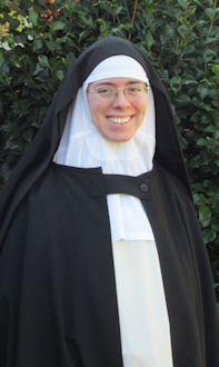 Photo of simply professed nun