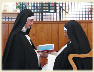 Photo of Solemn Profession