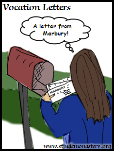 Vocation Letters Cartoon