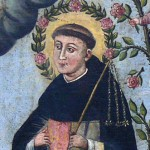 Manuscript illumination of Bl. Henry Suso