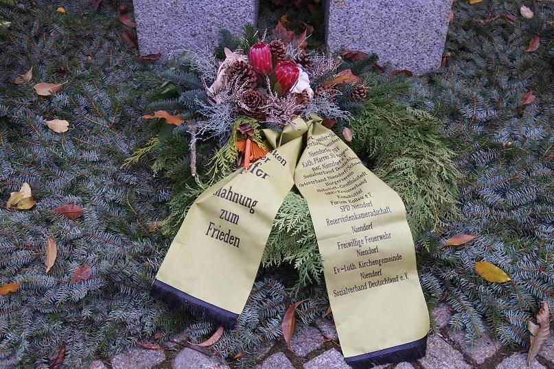 Bildergebnis für niendorf volkstrauertag