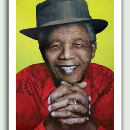 Mandela's Day Off Artist Print on Paper