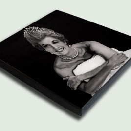 Princess Diana - Stretched - Limited edition stretched canvas artist prints by South African artist Marc Alexander as part of his 'Legacy' Series.