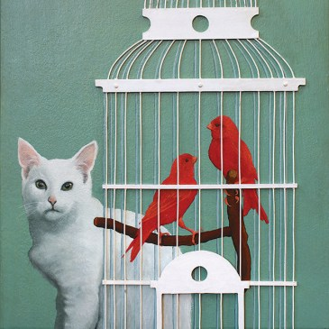 Marc Alexander | Bird Cage I | Dreams of an Enchanted World Exhibition