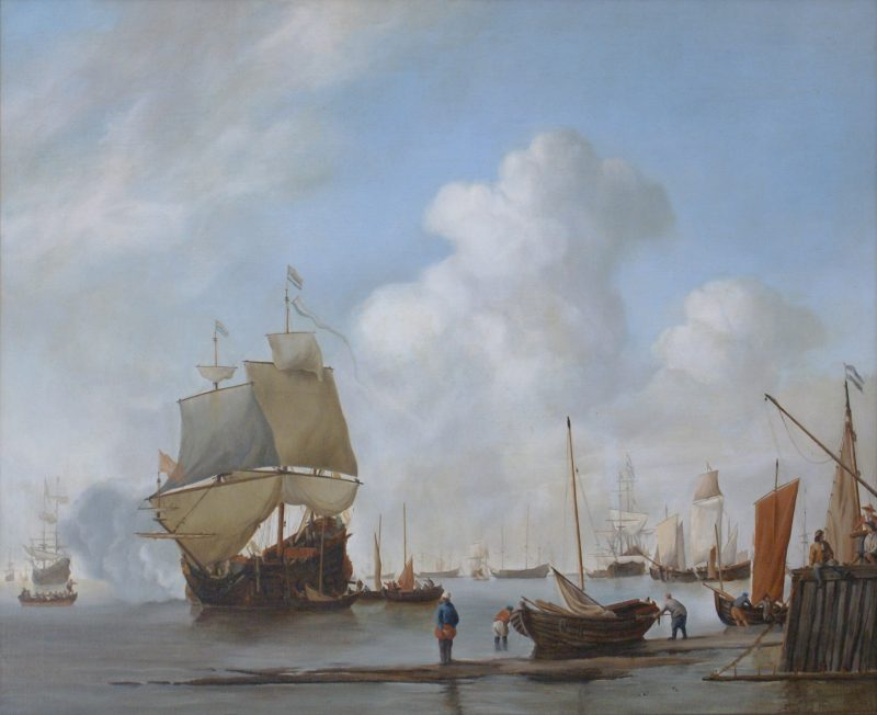 Marc Alexander | The Salute Replica | After Willem Van Der Velde The Younger