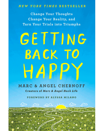 New Book - Getting Back to Happy
