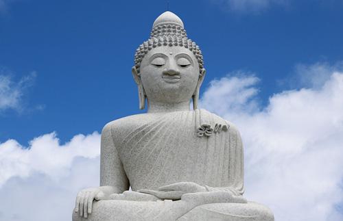 Stucco Buddha [19659006] Stucco Buddha
