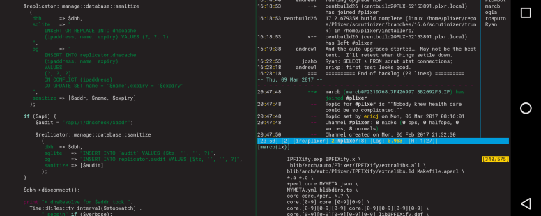 Termux, the best linux terminal for Android - marcbilodeau com