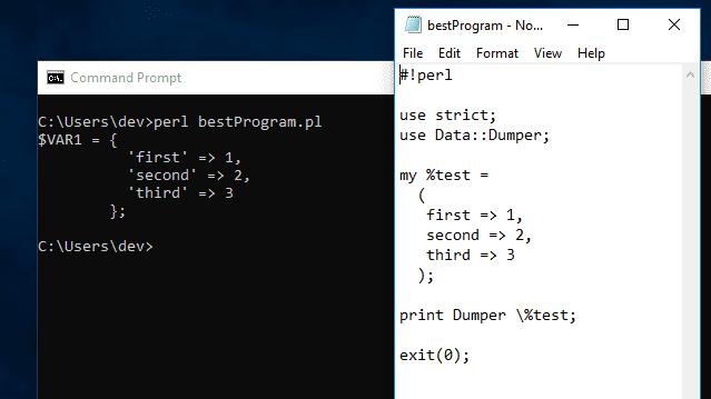 run perl script mac