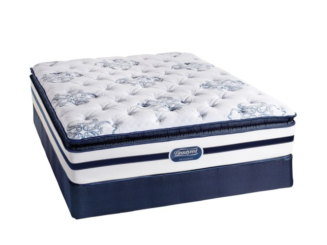 Simmons Beautyrest King Size Mattress Recharge Shakespeare Luxury Firm