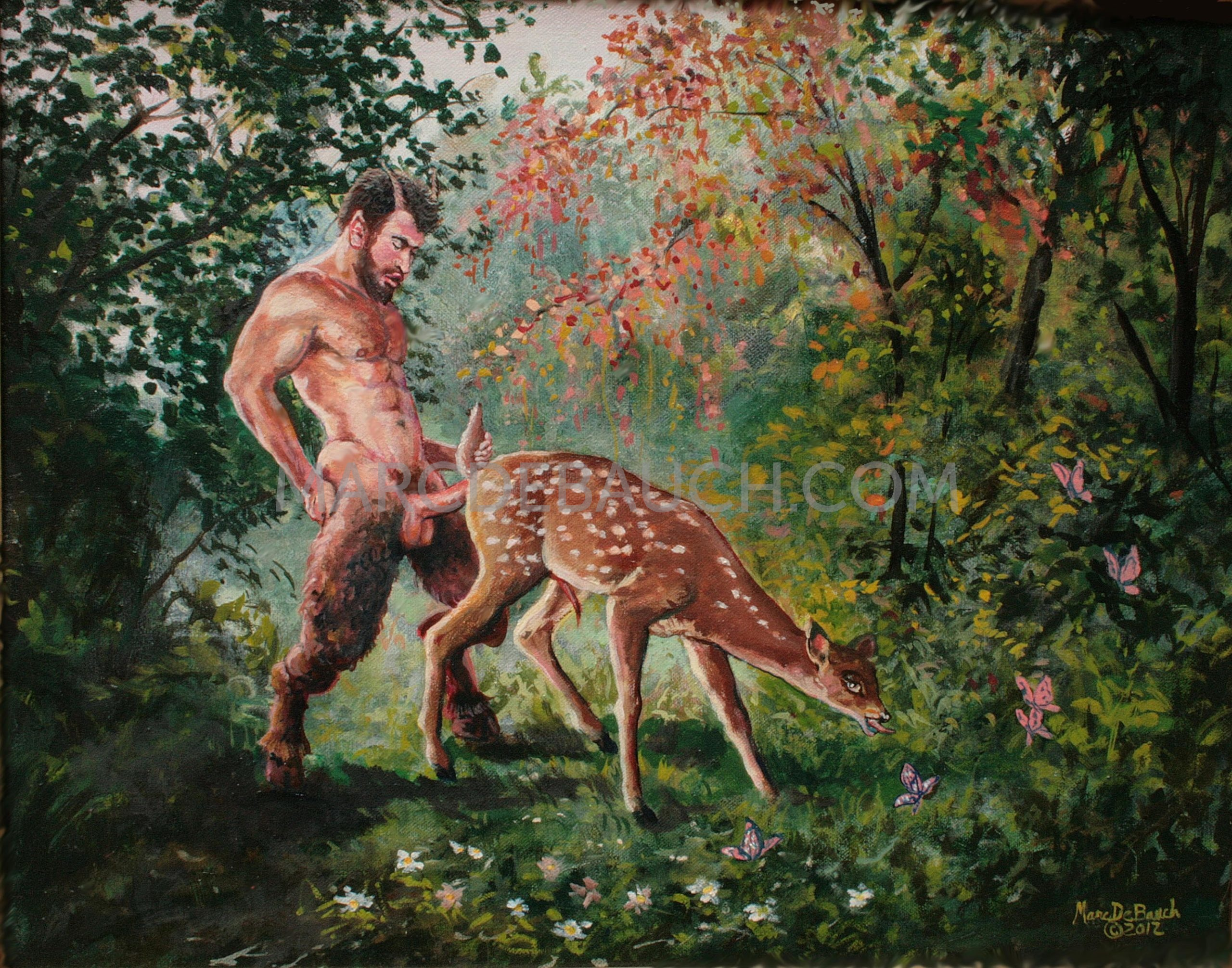 BAMBI AND THE SATYR