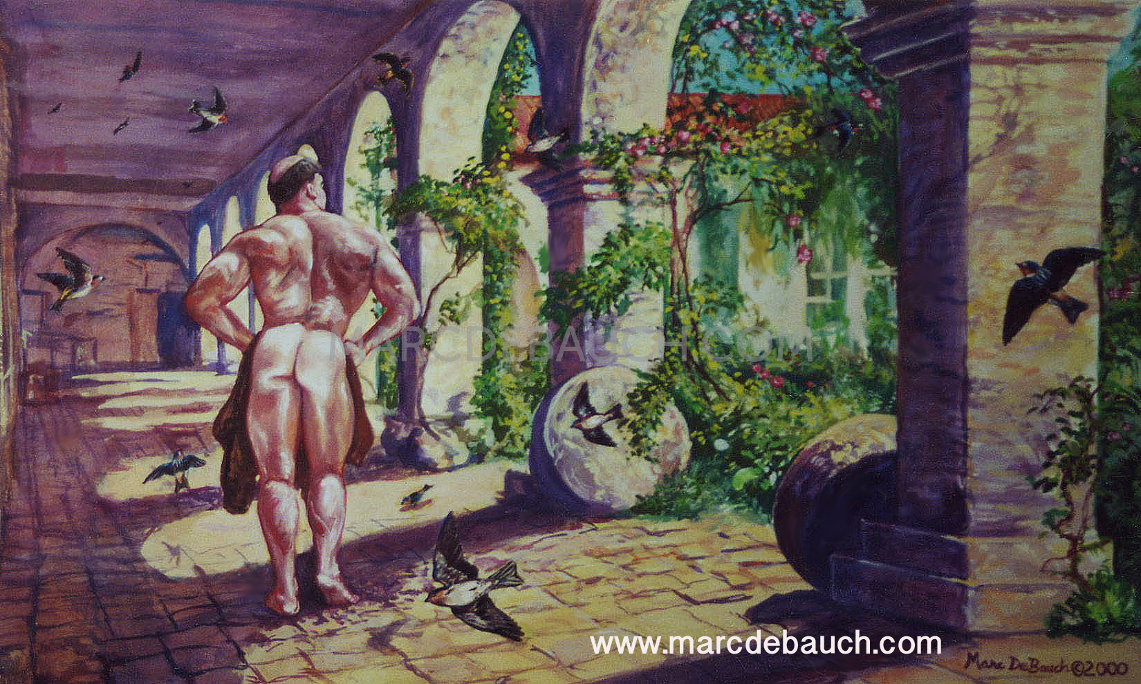 NAKED IN THE CLOISTERS