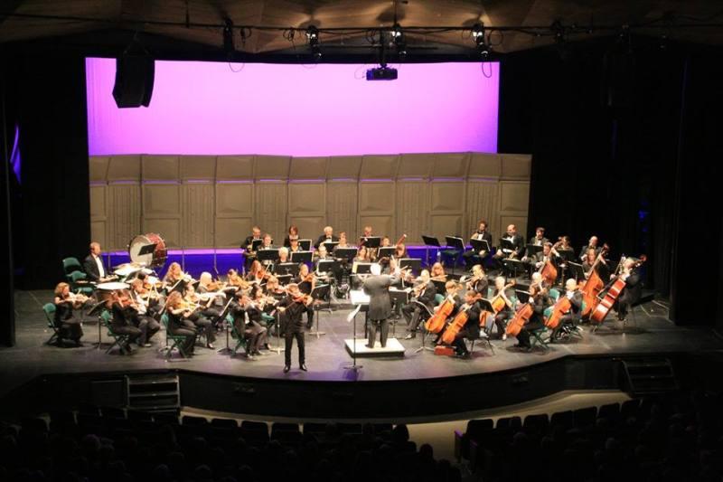 Kamloops symphony and Marc Djokic