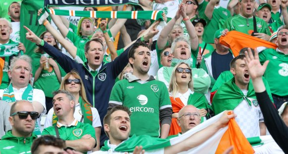 Smullen van supporters
