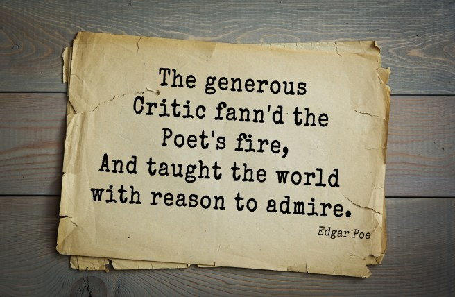Aphorism by Edgar Allan Poe