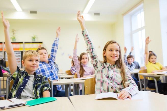 Schrijver in de klas