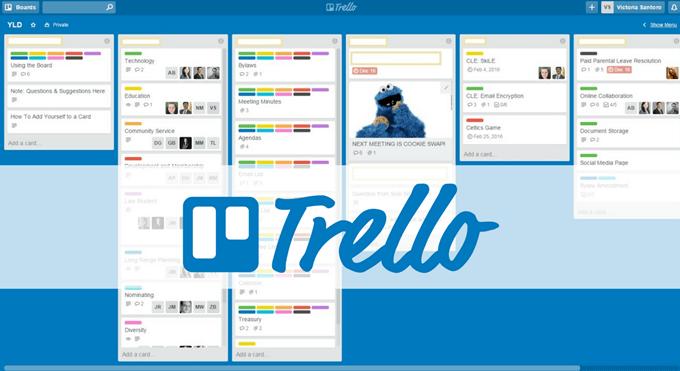 project management tool Trello