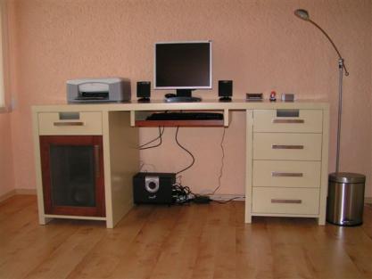 Bureau Informatique Ordinateur Moderne Mobilier