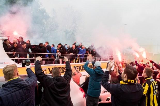 Huldiging Vitesse in Arnhem