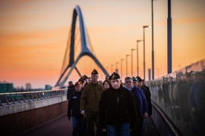 Sunset March Nijmegen