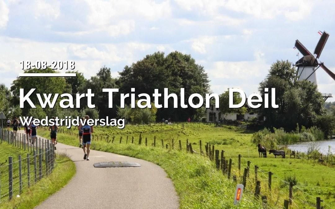 Verslag Kwart Triathlon Deil 2018
