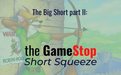 The Big Short part II: the GameStop Short Squeeze
