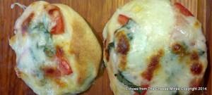 Caprese Pizza with Fesh Mozzarella, Basil and Tomato