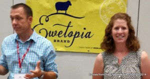 Jed Asmus and Andrea Mongini, Owners, Ewetopia Dairy
